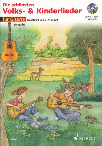 Die Schonsten Volks Und Kinderlieder Gitarre Cd