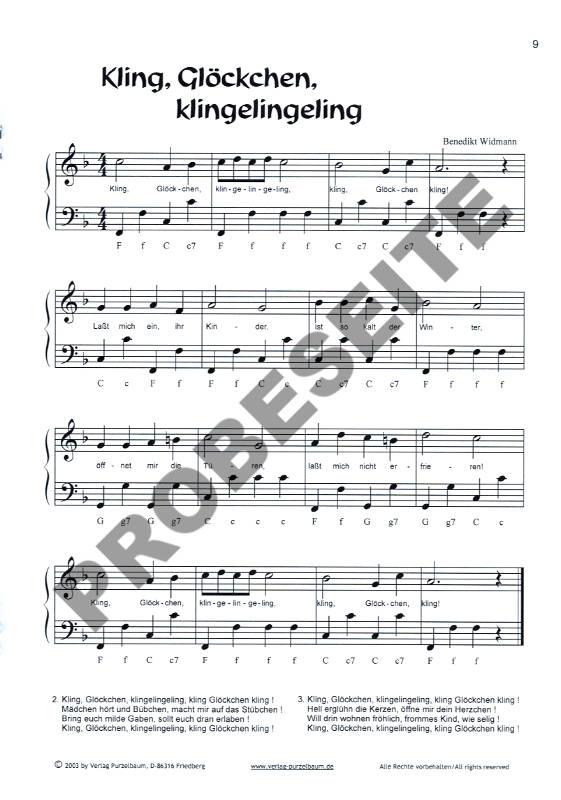 Hört ihr/'s klingen Weihnachtslieder für 3 Altblockflöten
